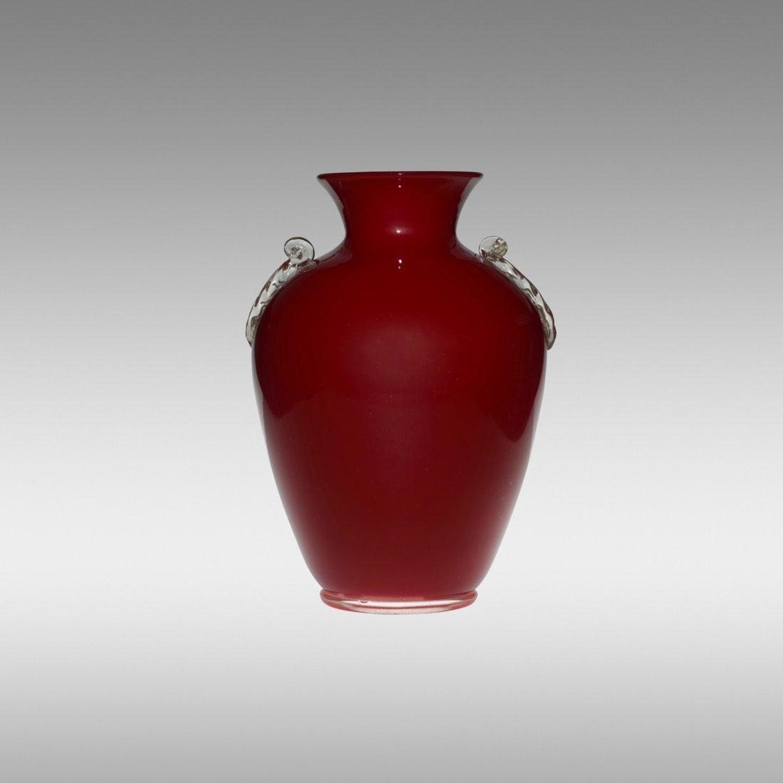 120: Barovier Seguso & Ferro monumental vase