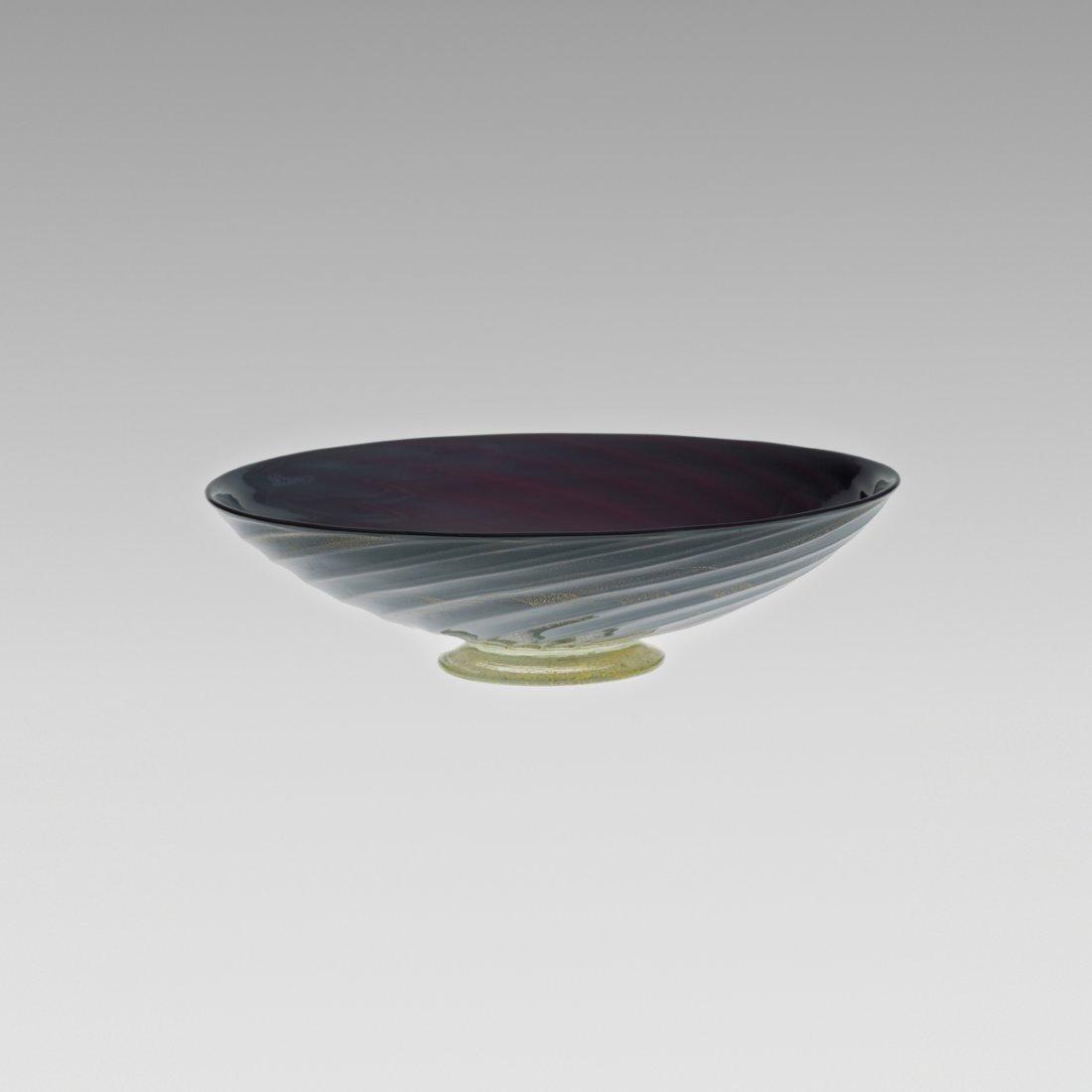 121: Barovier Seguso & Ferro bowl