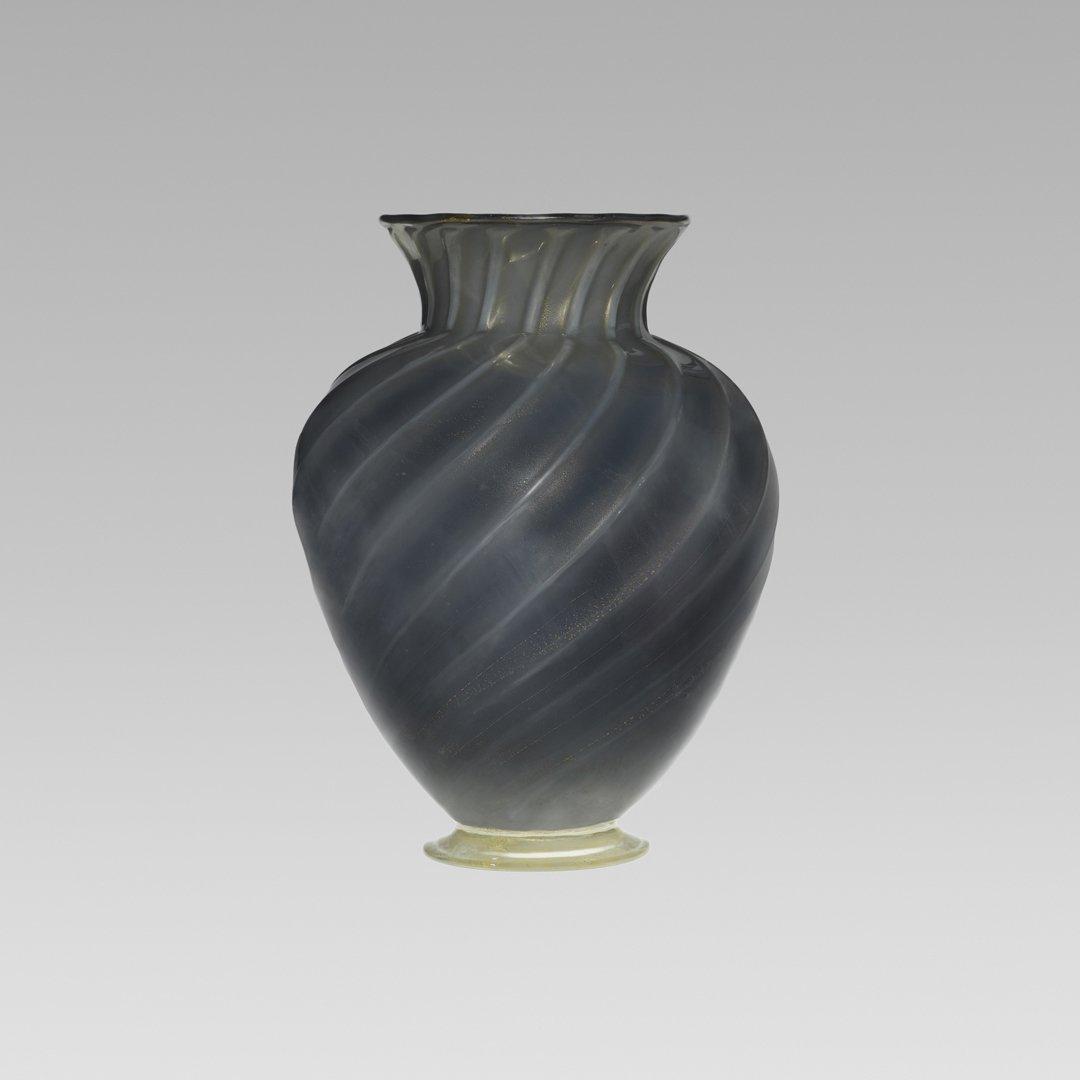 122: Barovier Seguso & Ferro monumental vase