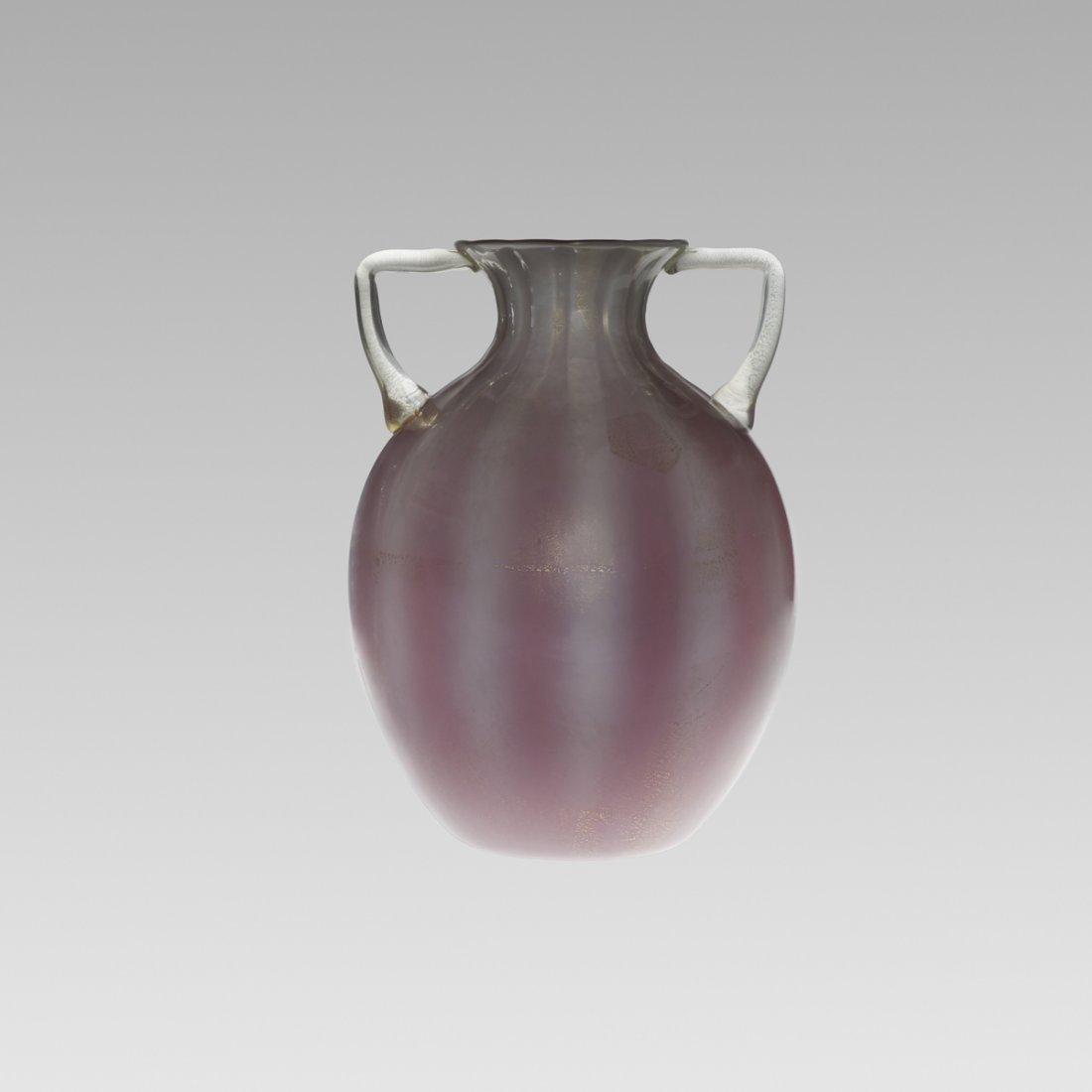 123: Barovier Seguso & Ferro vase