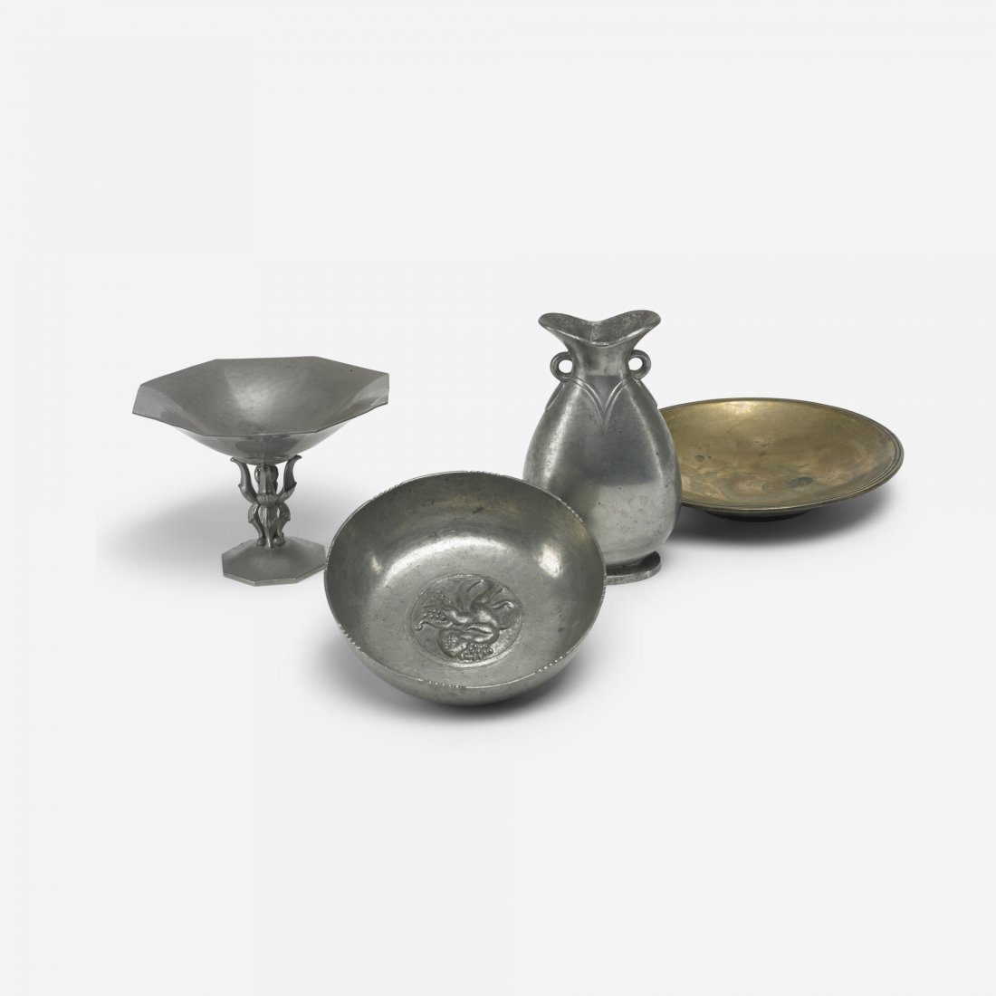 113: Just Andersen collection of four vessels