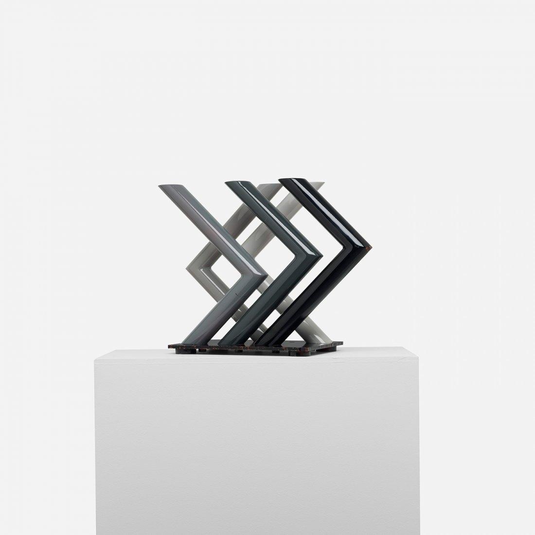 102: Josefa Filkosky untitled (Grey Series Sculpture)