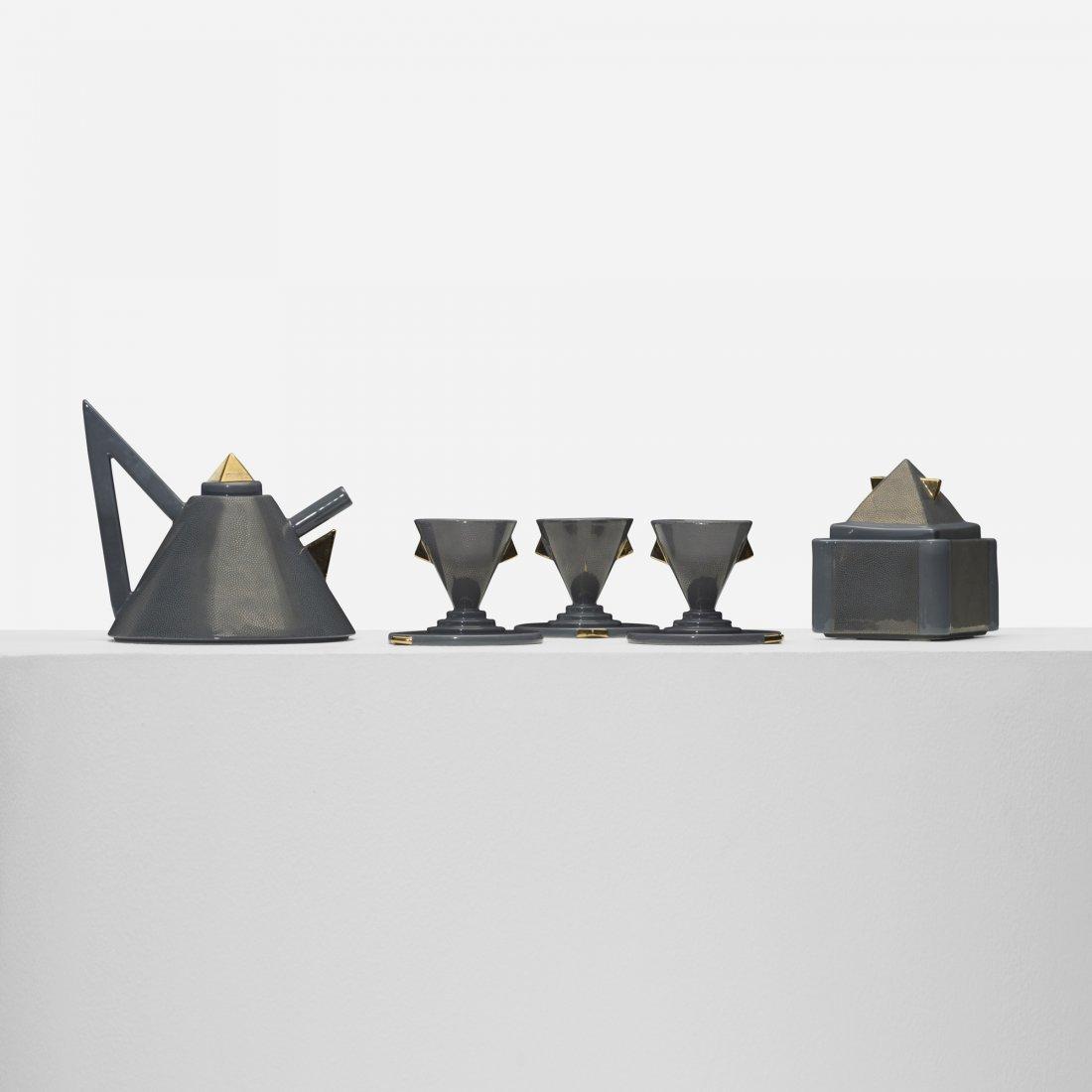106: Matteo Thun Nefertiti tea set