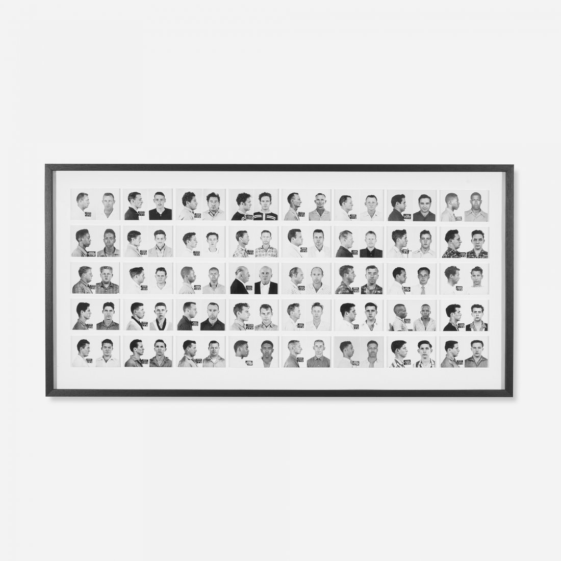 121: Anonymous collection of mugshots