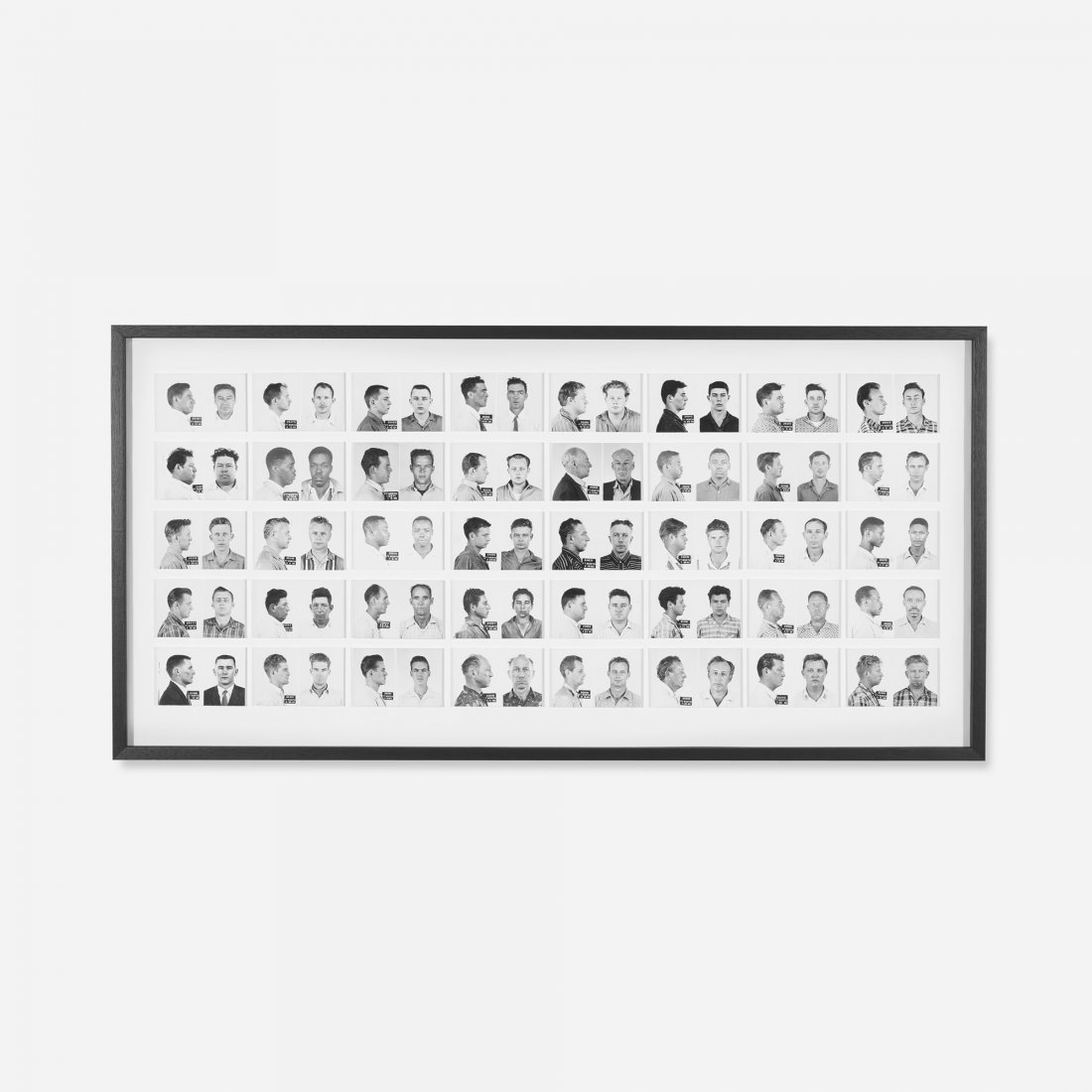122: Anonymous collection of mugshots