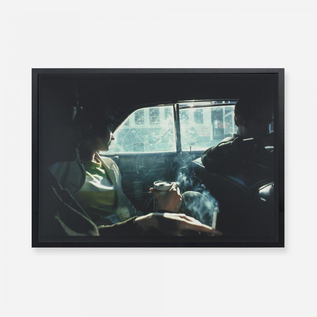 211: Nan Goldin Smoky car, New Hampshire
