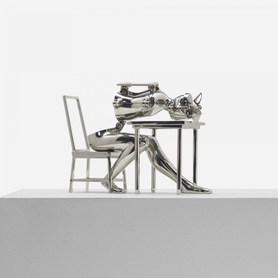 294: Ernest Trova Seated Figure VII