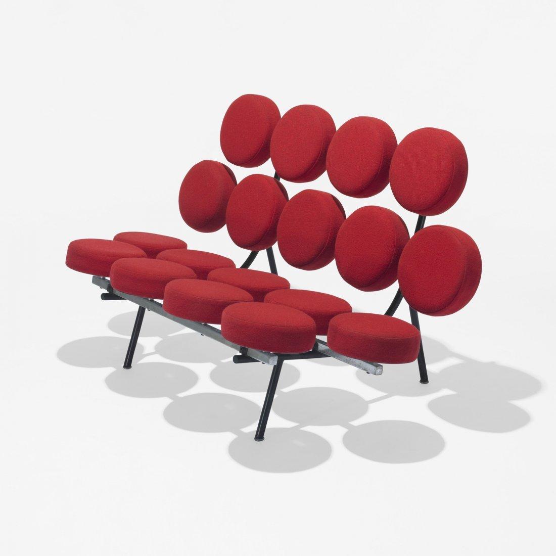 102: George Nelson & Associates Marshmallow sofa