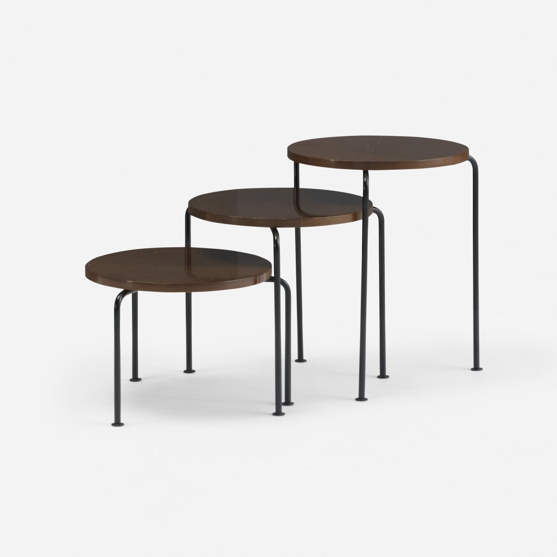 108: Luther Conover nesting tables, set of three