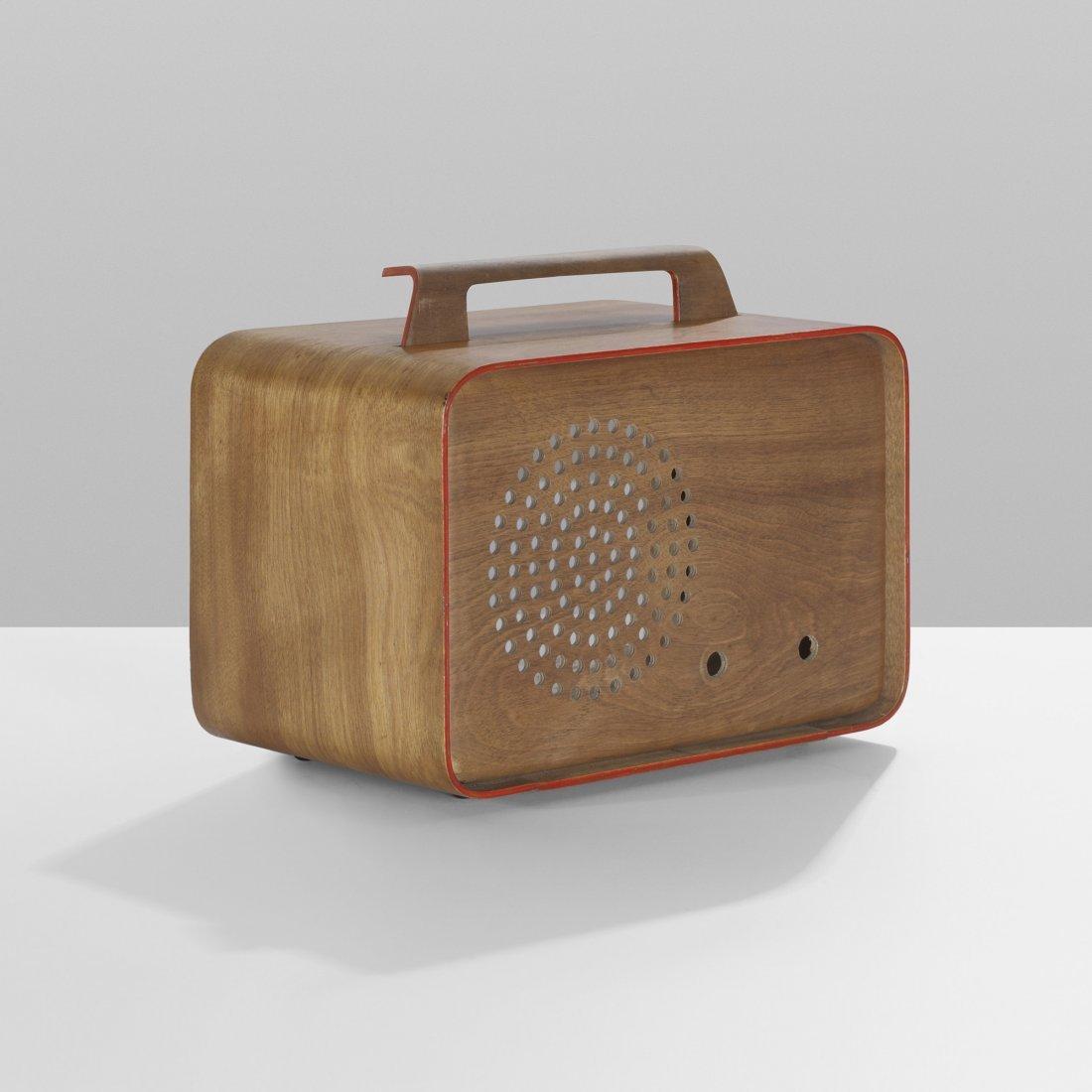 117: Charles Eames prototype radio enclosure