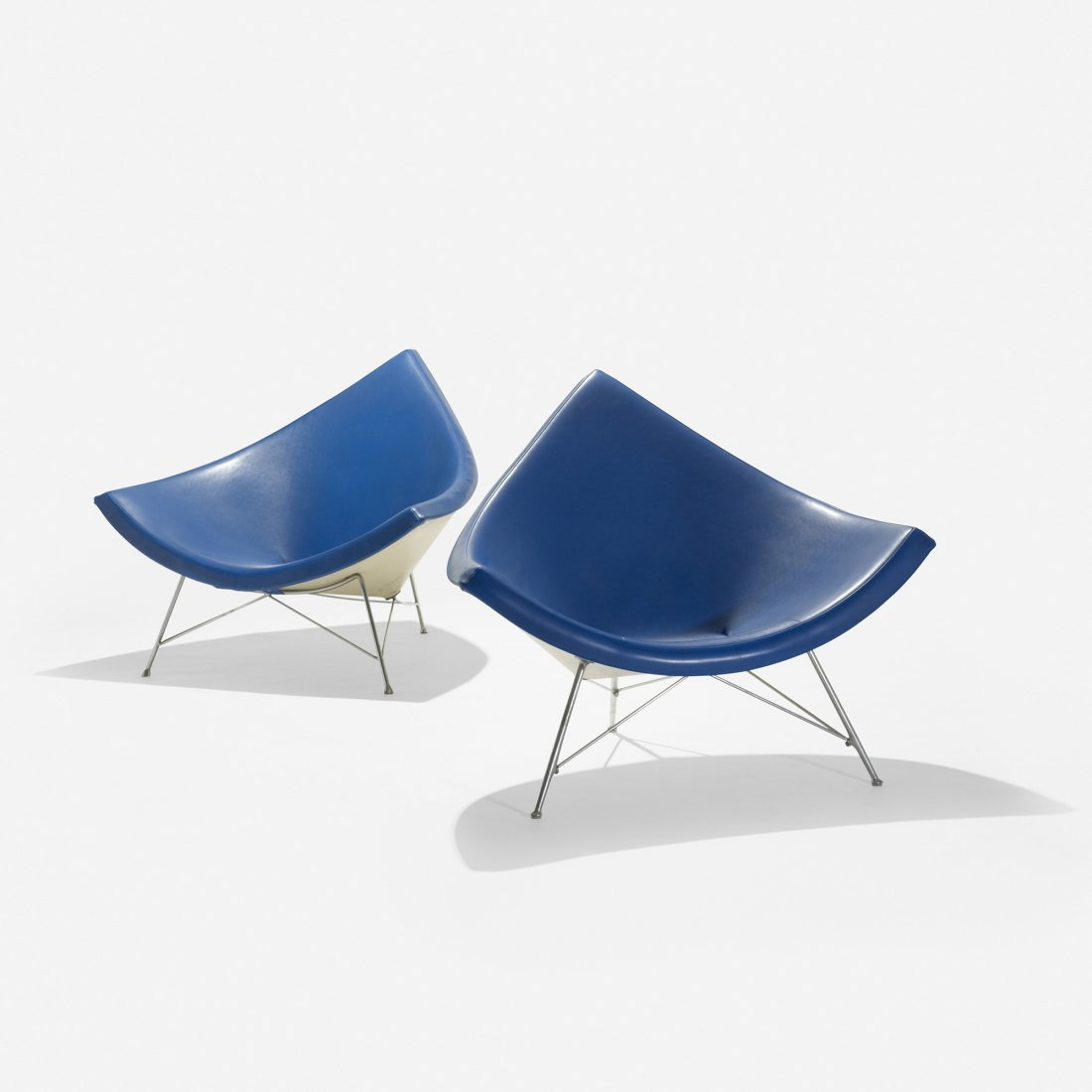 119: George Nelson & Associates Coconut chairs, pair