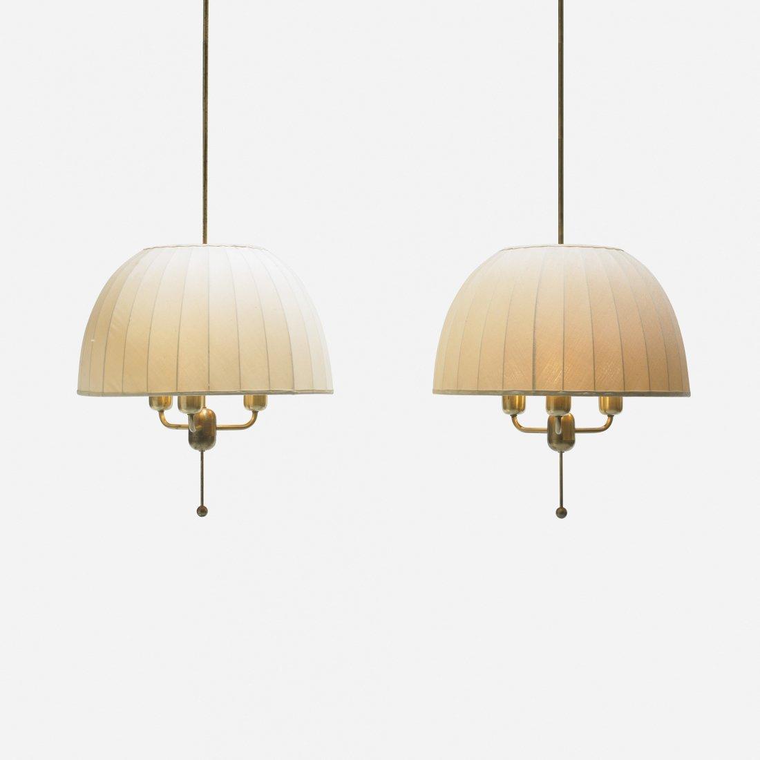 100: Hans-Agne Jakobsson chandeliers, pair
