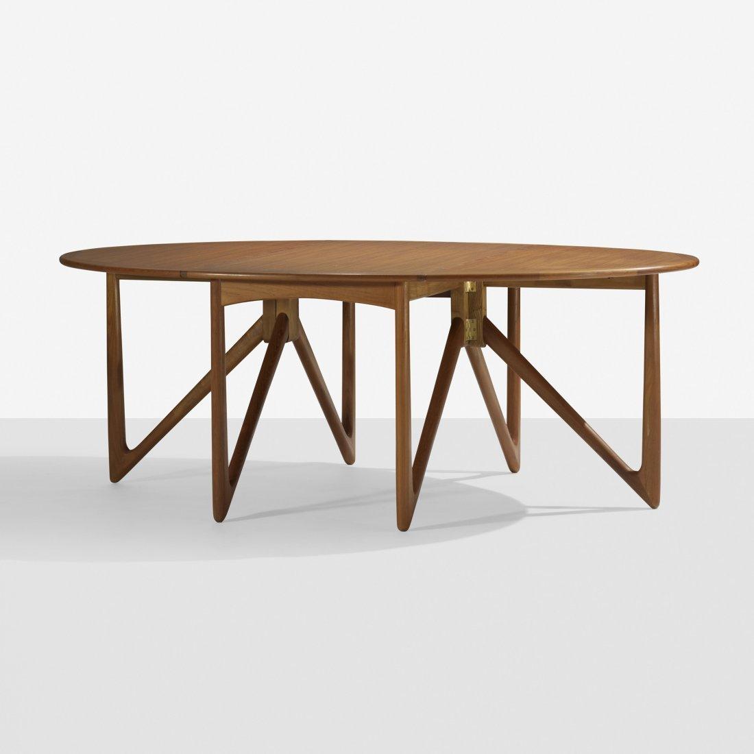 105: Kurt Ostervig drop-leaf dining table