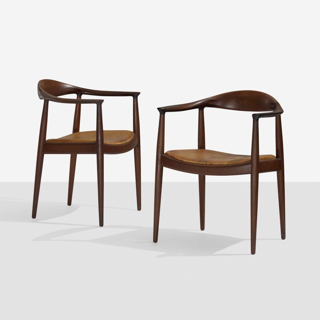 114: Hans Wegner The Chairs, pair