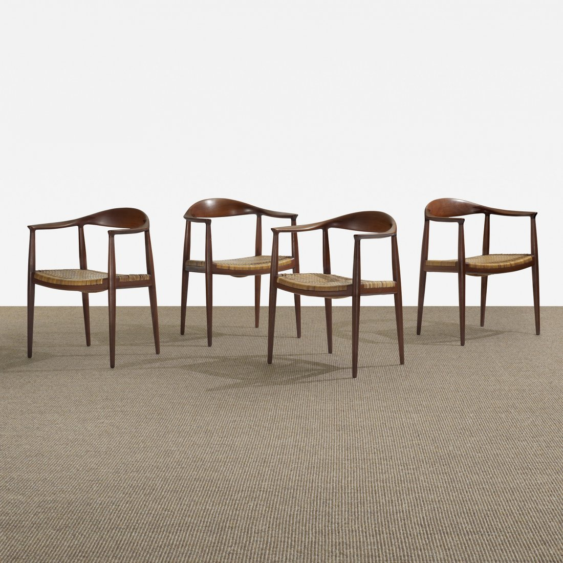 118: Hans Wegner The Chairs, set of four