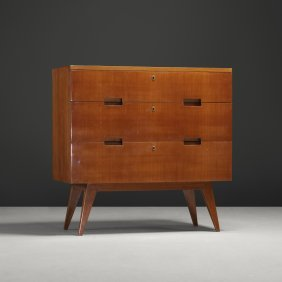 110: Gio Ponti cabinet from the Richet Residence