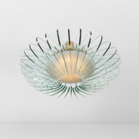 113: Max Ingrand chandelier, model 2056