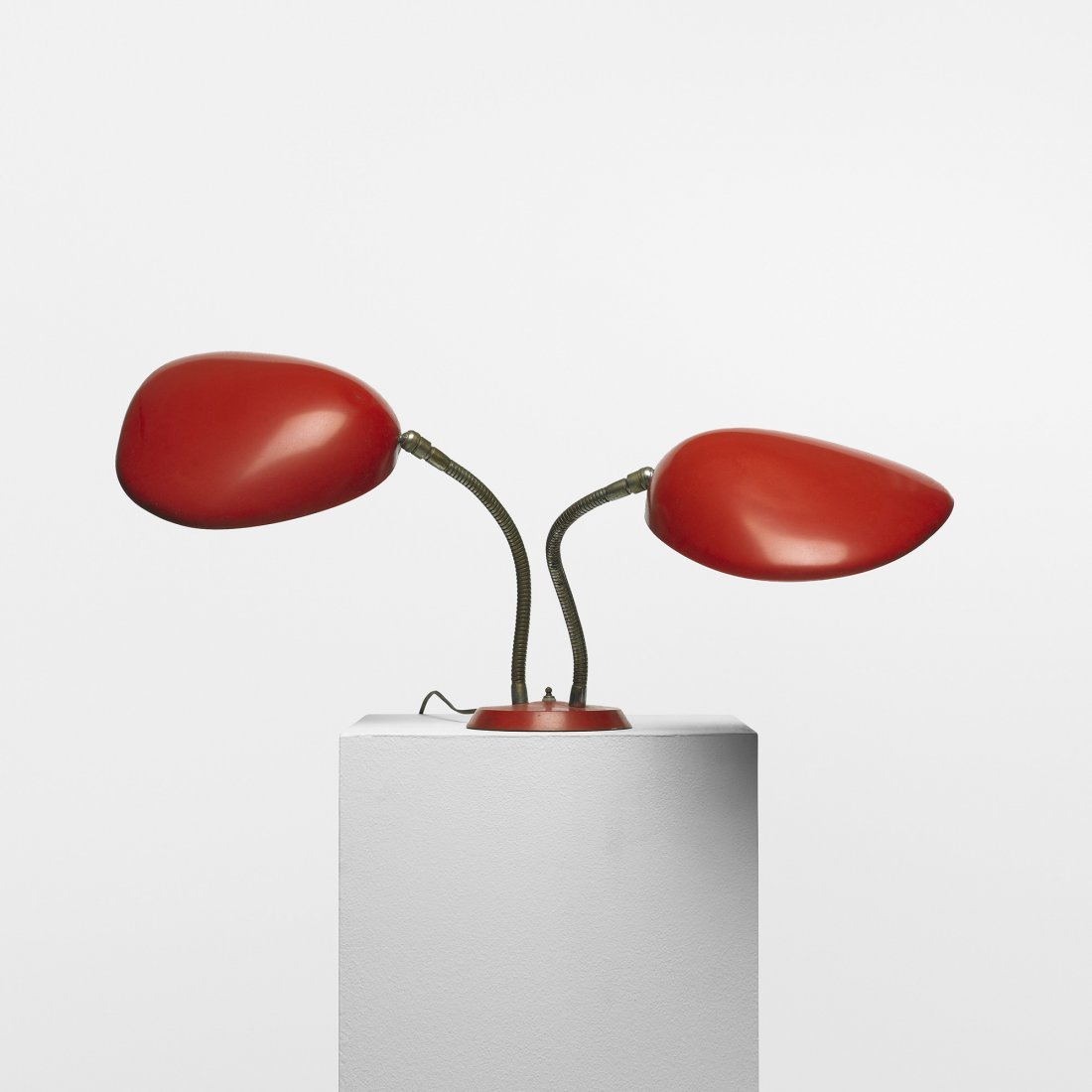 200: Greta Magnusson Grossman double Cobra table lamp