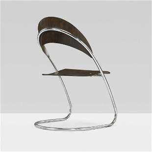 284: Hans Luckhardt prototype ST 14 chair