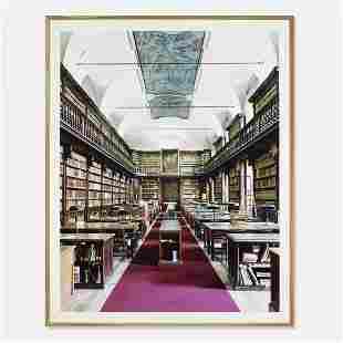 Candida Höfer Biblioteca di Brera Milano IV