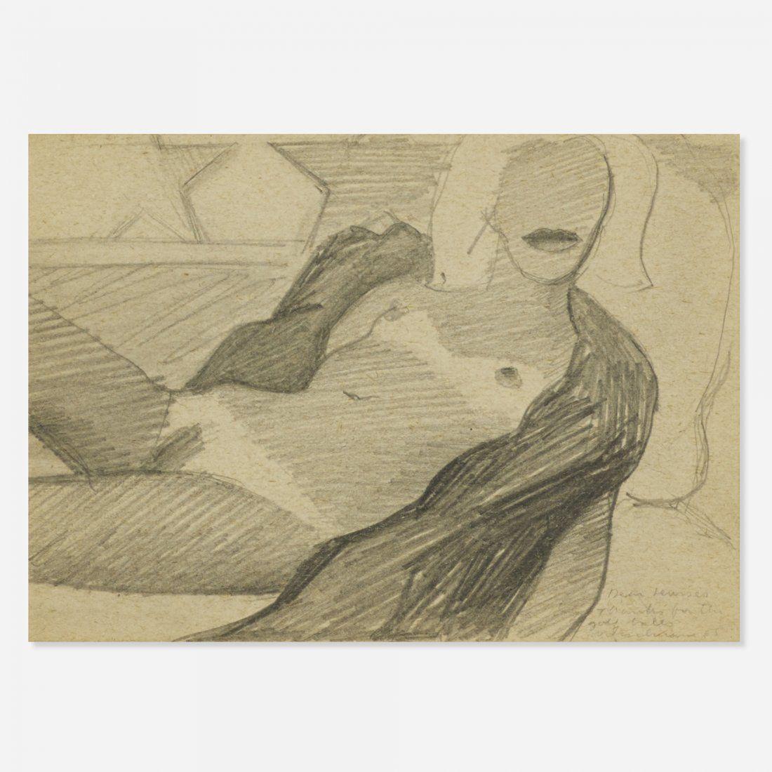 Tom Wesselmann All American Nude