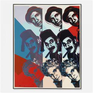 Andy Warhol The Marx Brothers