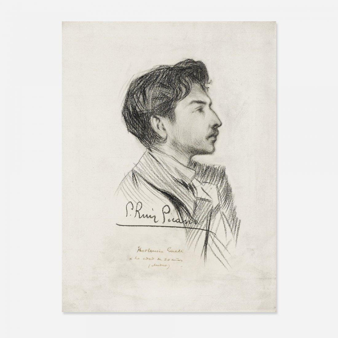 Pablo Picasso Portrait of Hortensio Güell