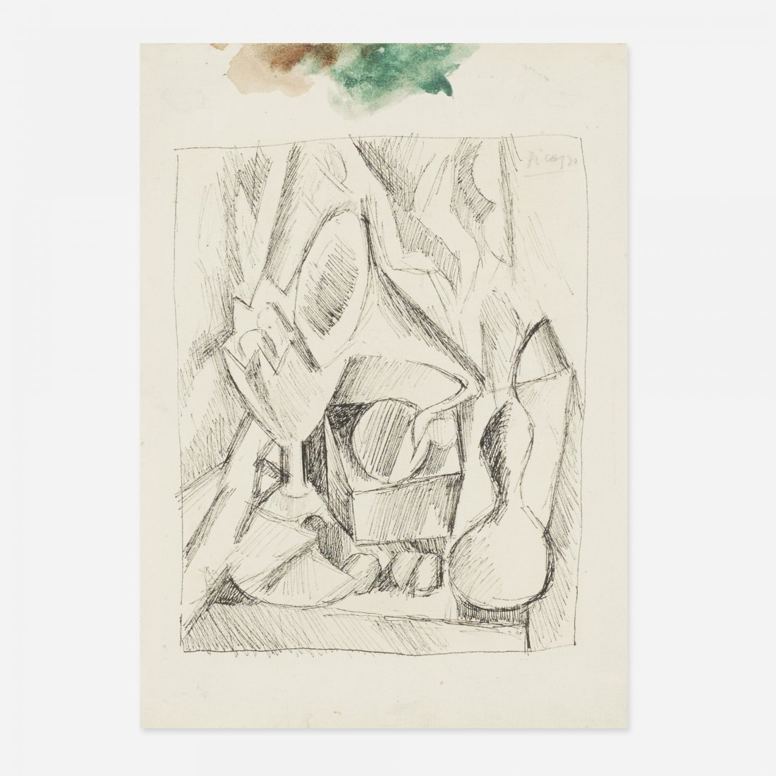 Pablo Picasso Nature Morte au Gramophone