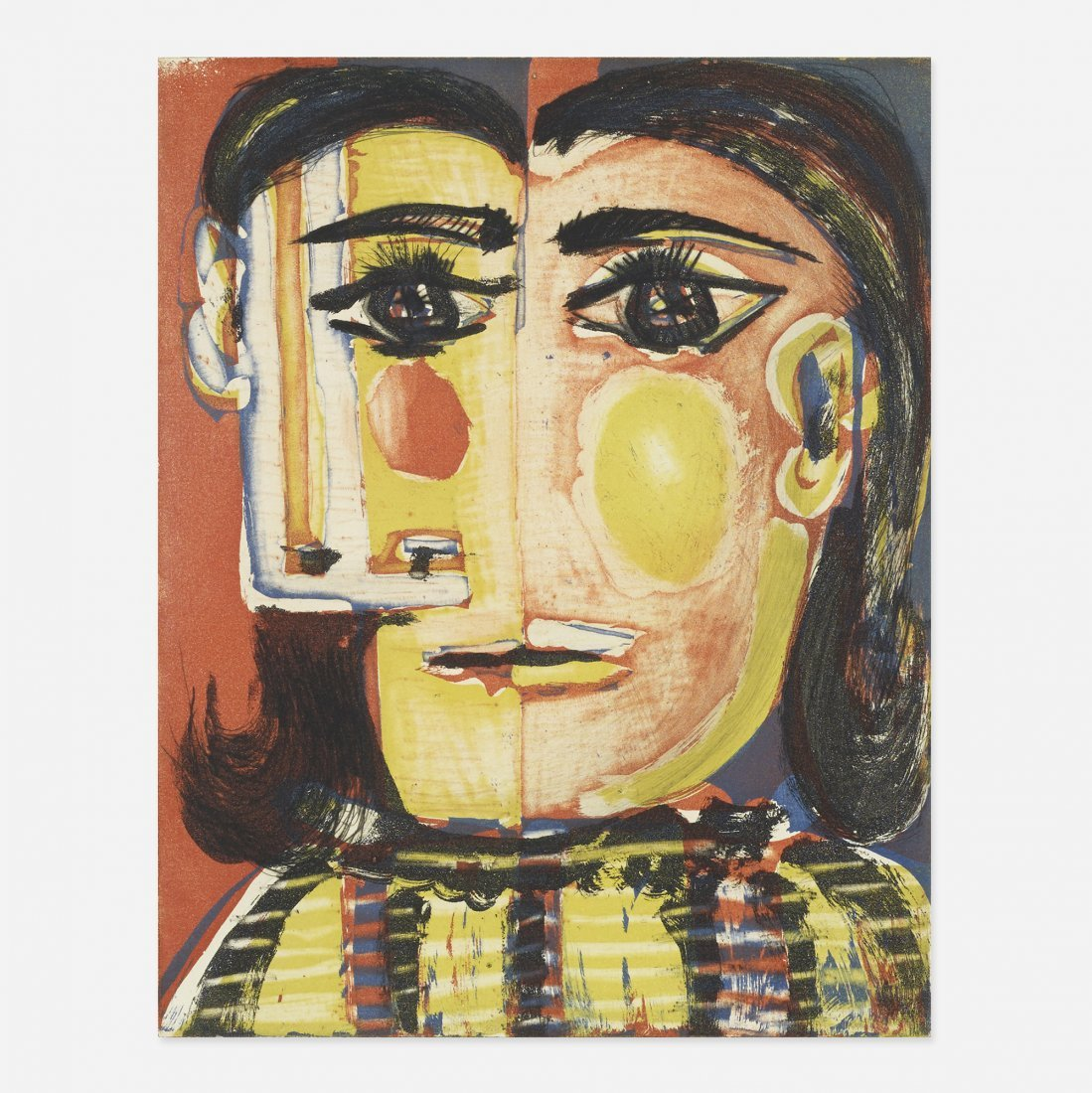 Pablo Picasso Tête de Femme I