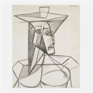 Pablo Picasso Buste de Femme