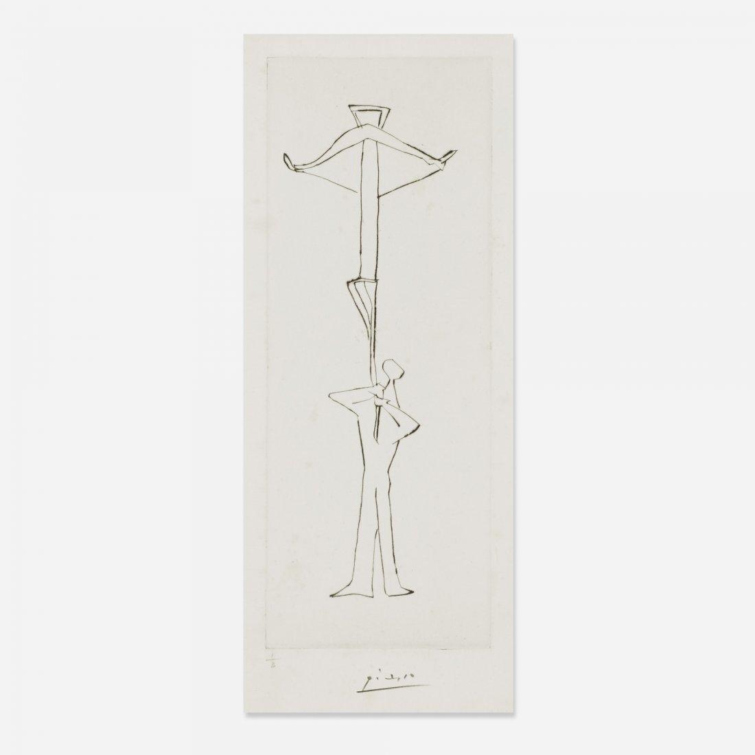 Pablo Picasso untitled (Le Frère Mendiant)