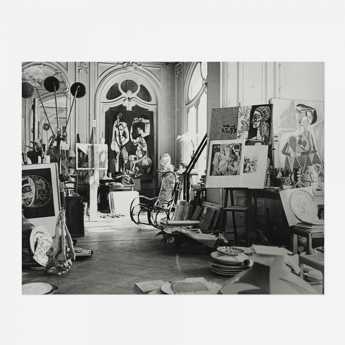 Andre Villers Picasso, Atelier Cannes