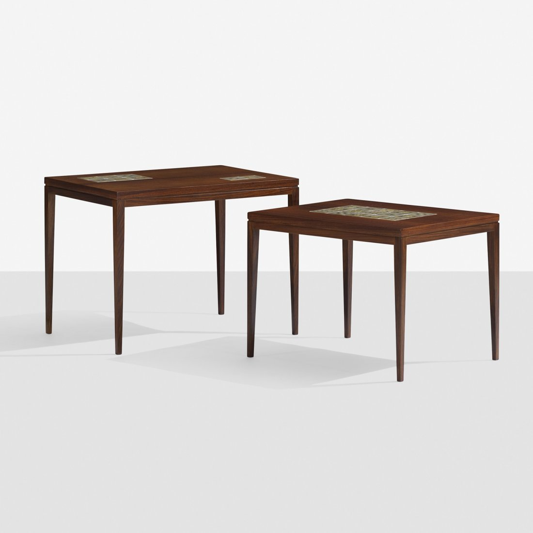 Bjørn Wiinblad nesting tables, pair