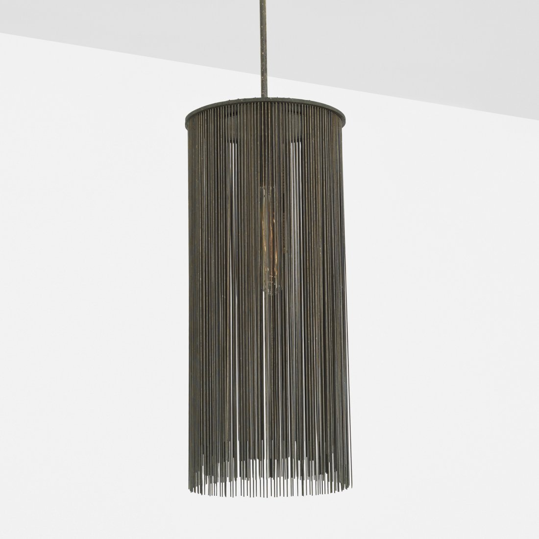Harry Bertoia untitled (Suspended Lamp Form)