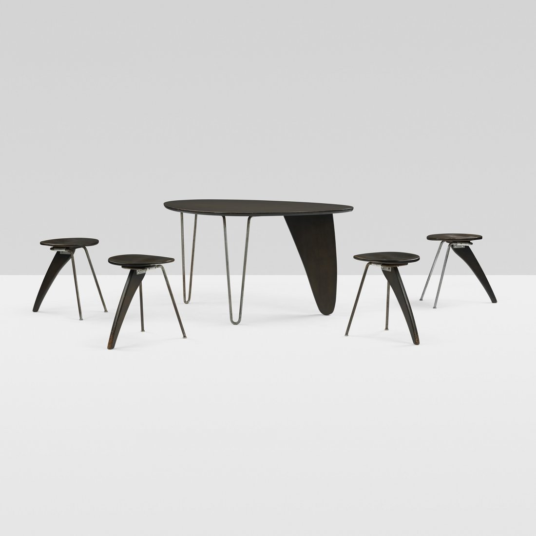 Isamu Noguchi rare Rudder dining suite