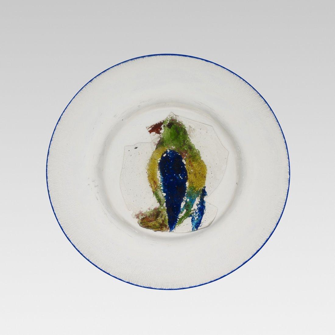 Benvenuto Barovier Pappagallo plate