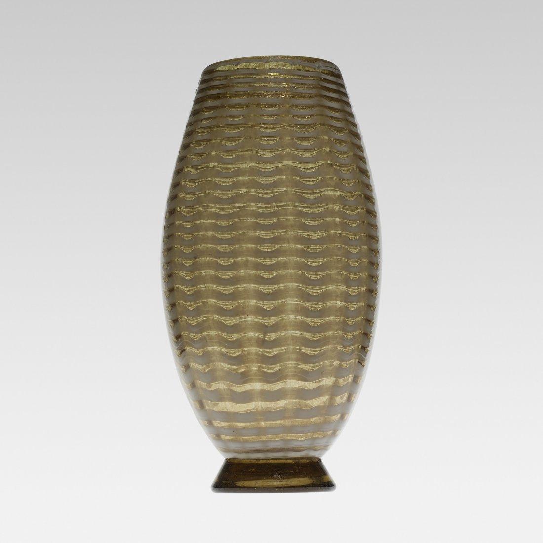 Ercole Barovier Pettinato vase