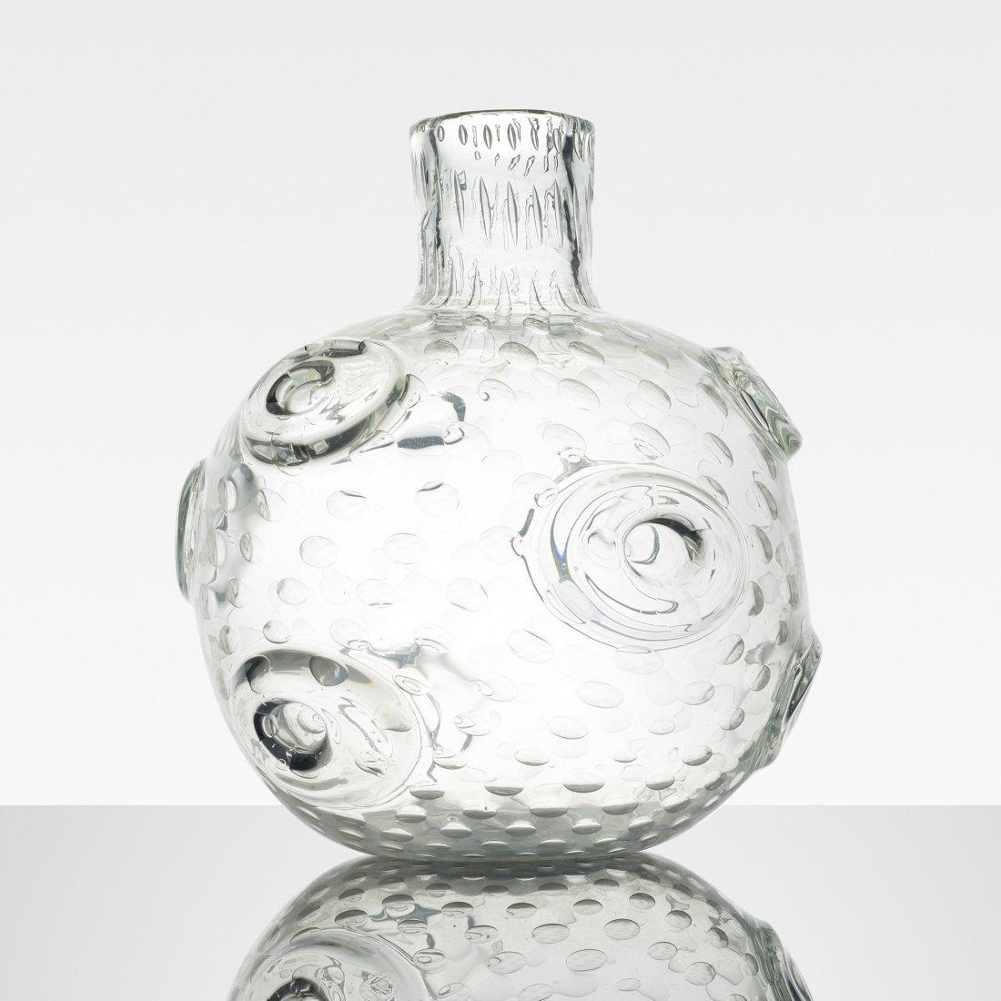 Ercole Barovier Vaso Con Anelli
