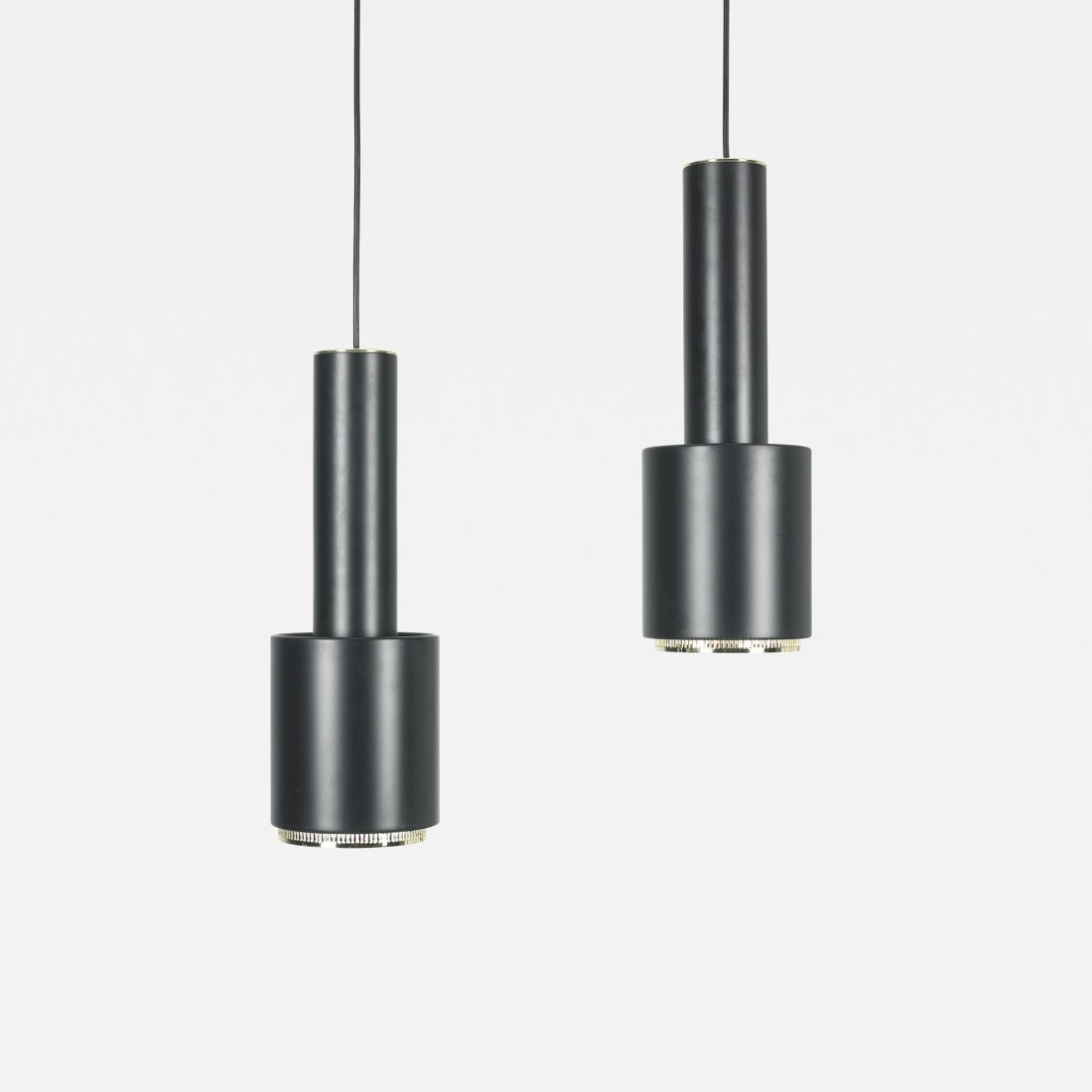 Alvar Aalto pendant lamps model A110, pair