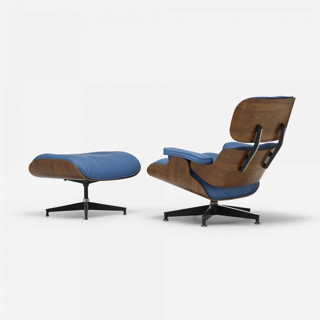Charles and Ray Eames 670 lounge and 671 ottoman