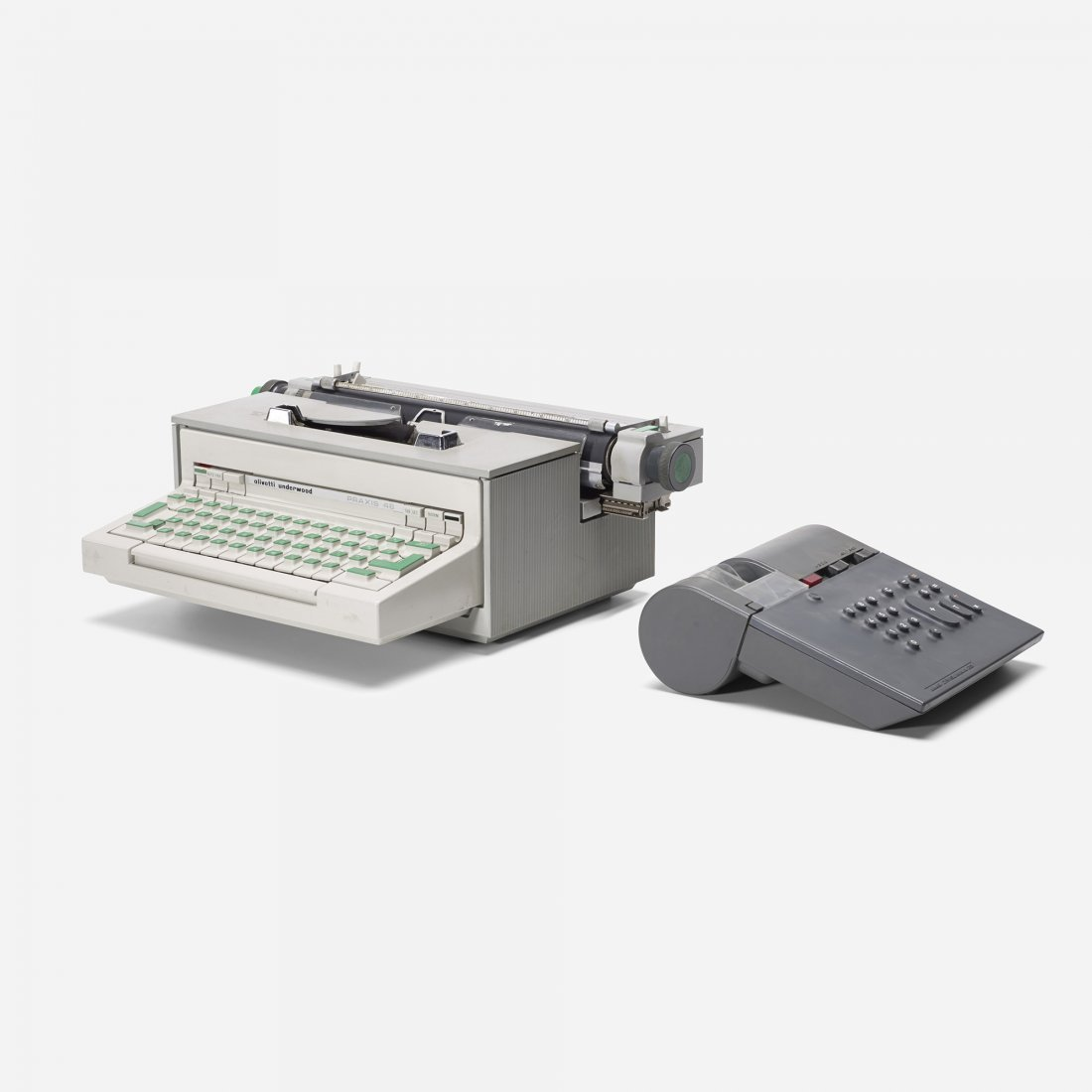 Ettore Sottsass Praxis typewriter and calculator