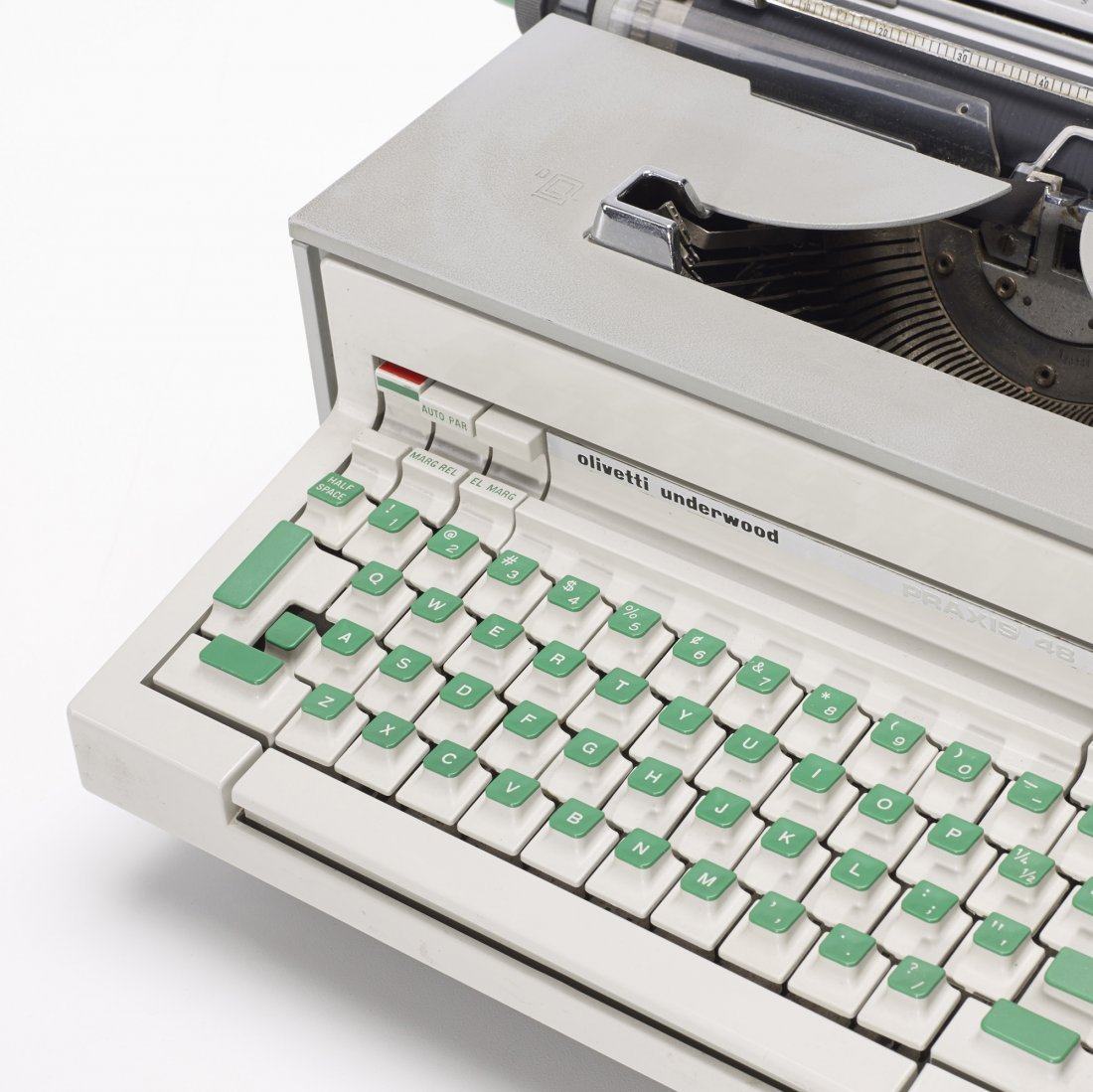 Ettore Sottsass Praxis typewriter and calculator - 3