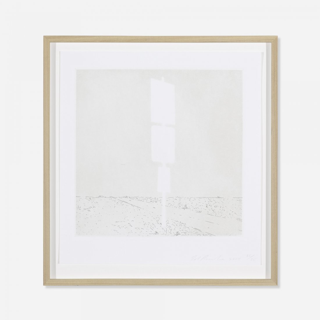 Edward Ruscha untitled (from Blank Signs)