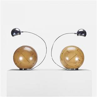 Angelo Brotto table lamps, pair