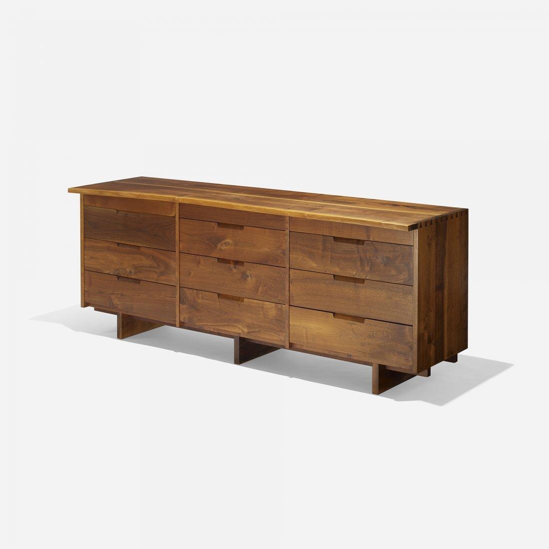 George Nakashima Triple chest of drawers