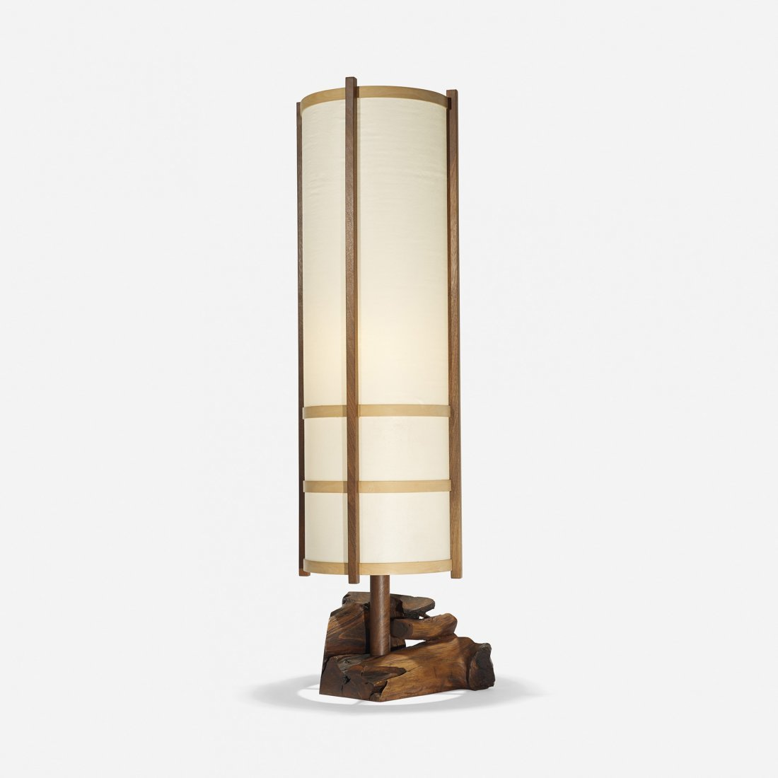 George Nakashima Kent Hall floor lamp