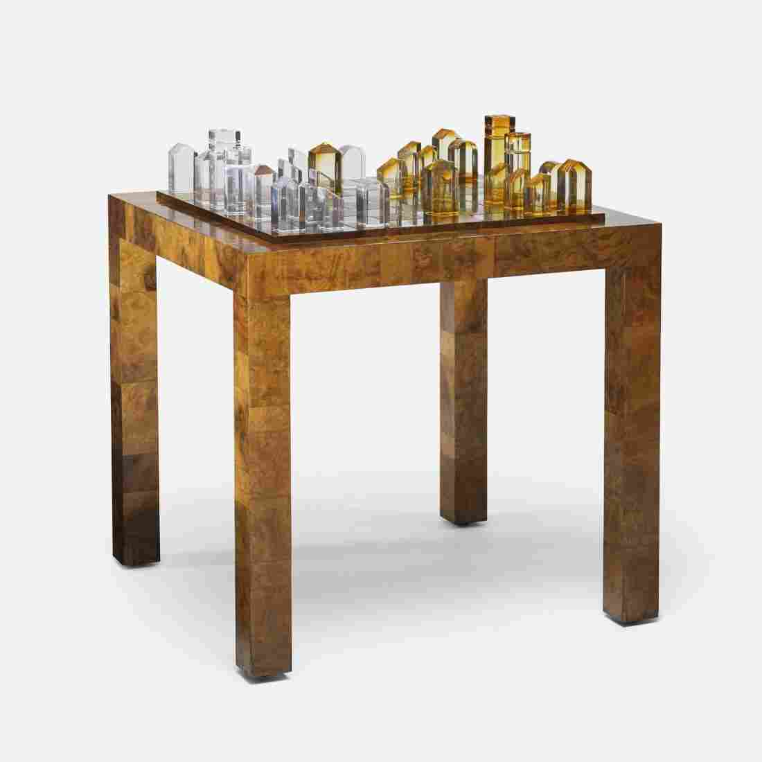 Paul Evans Cityscape game table, PE-826