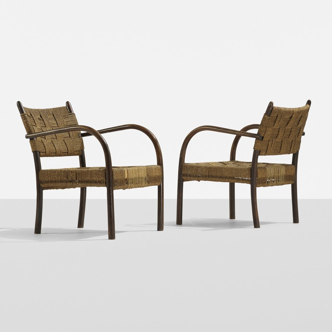 Frits Schlegel armchairs, pair