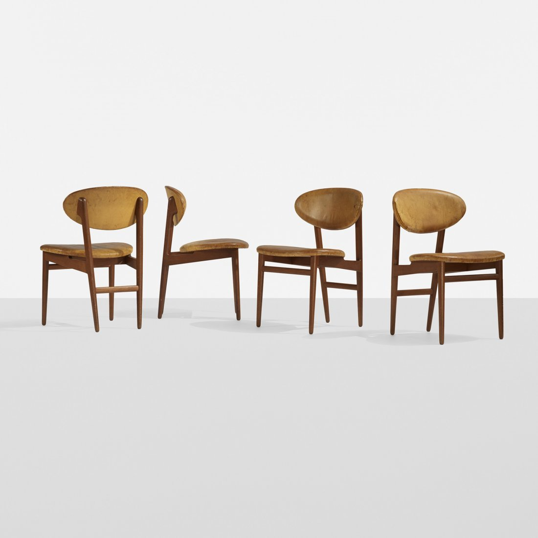 Grete Jalk dining chairs, set of four