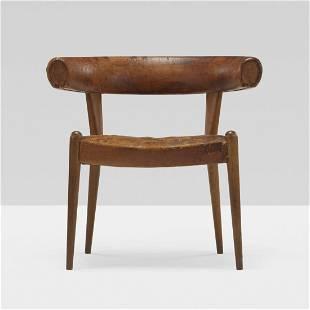 Hans Wegner rare Roman armchair